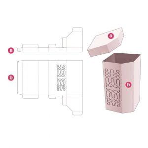 Коробка с высокой фаской