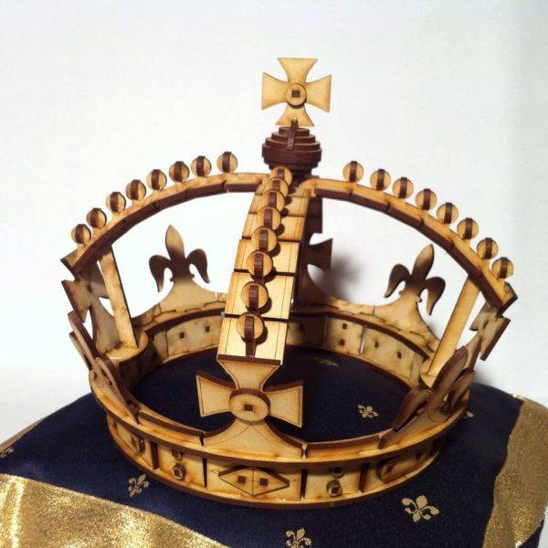 Корона из фанеры