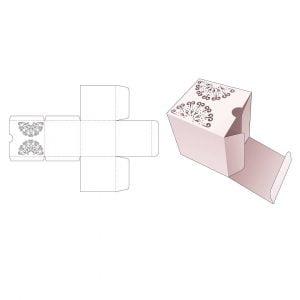 Квадратная упаковка для косметики