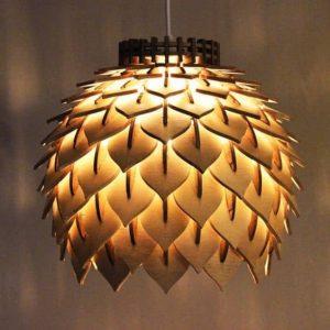 Лампа шишка