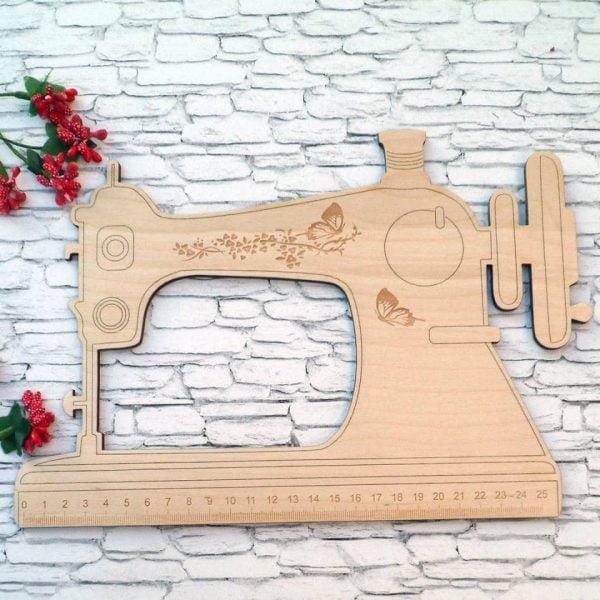 Линейка швейная машинка