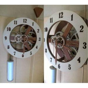 Макет механических часов