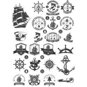 Морские и судовые элементы