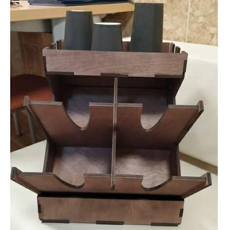 Органайзер для кофе макет