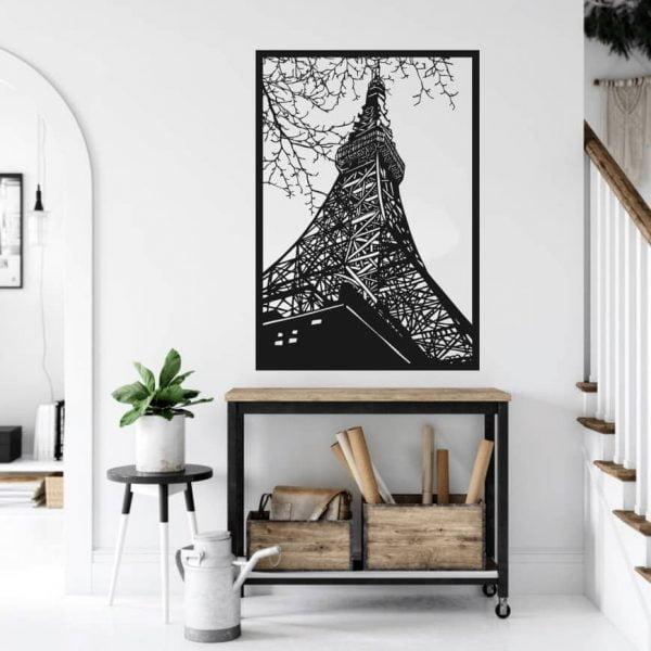 Панно Эйфелева башня макет