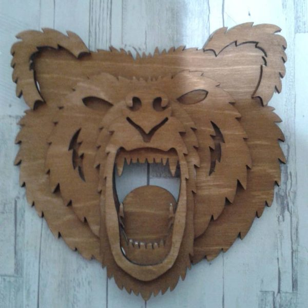 Панно медведь