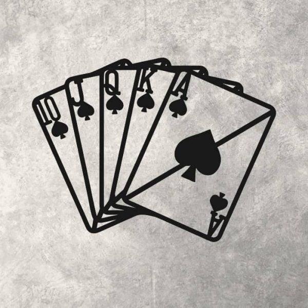 Макет панно покер