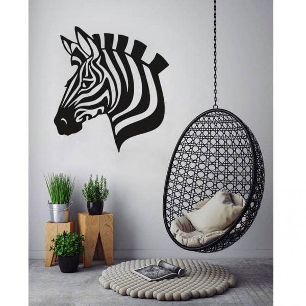 Панно зебра макет