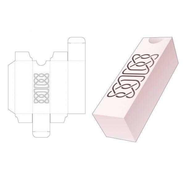 Прямоугольная коробка пенал