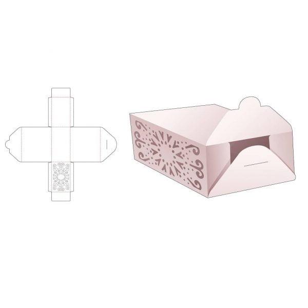 Прямоугольная упаковка с откидной крышкой