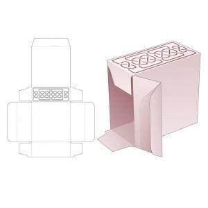 Прямоугольная упаковочная коробка