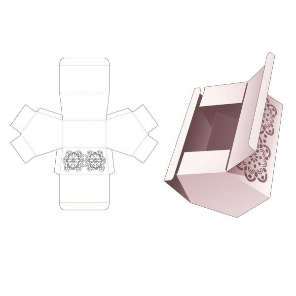 Пятиугольная коробка