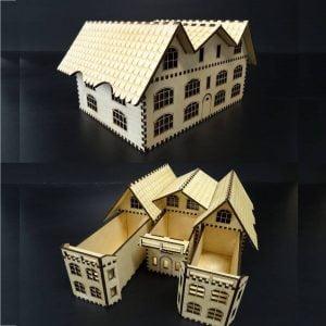 Секретер дом макет