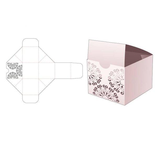 Складная коробка для кексов