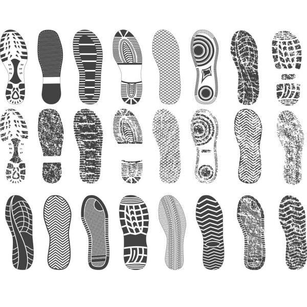 Следы обуви
