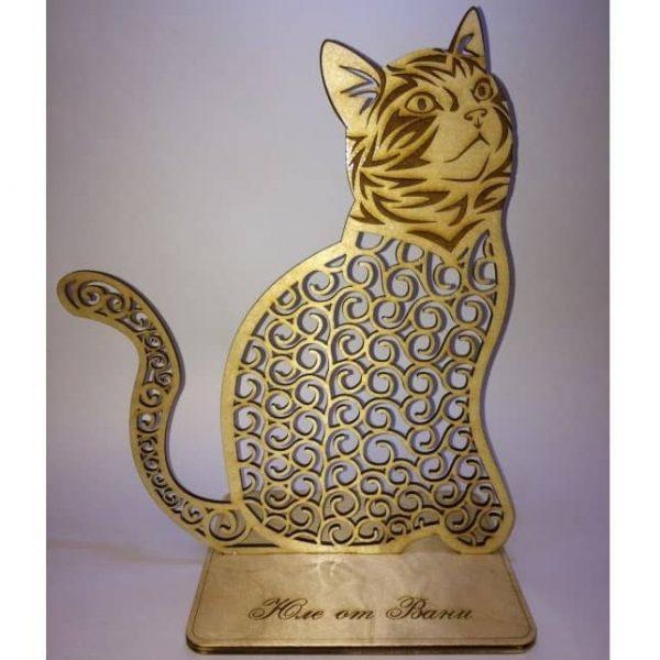 Макет статуэтки кошки