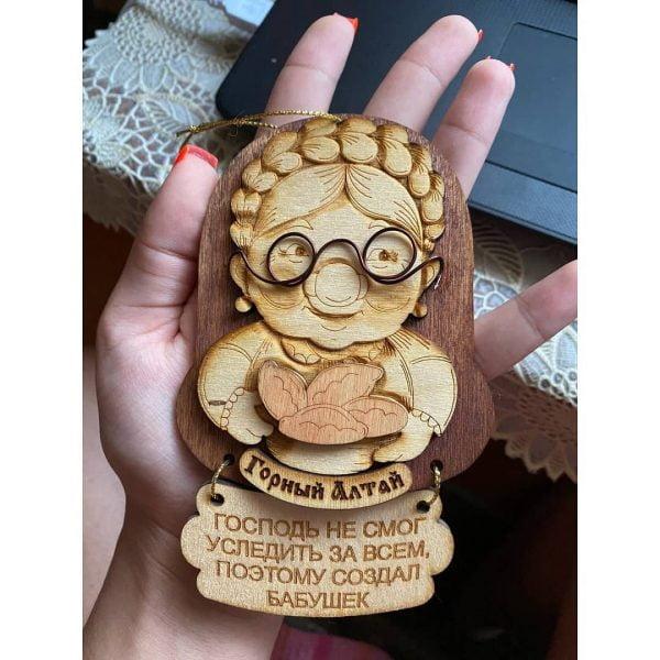 Макет сувенира бабушки