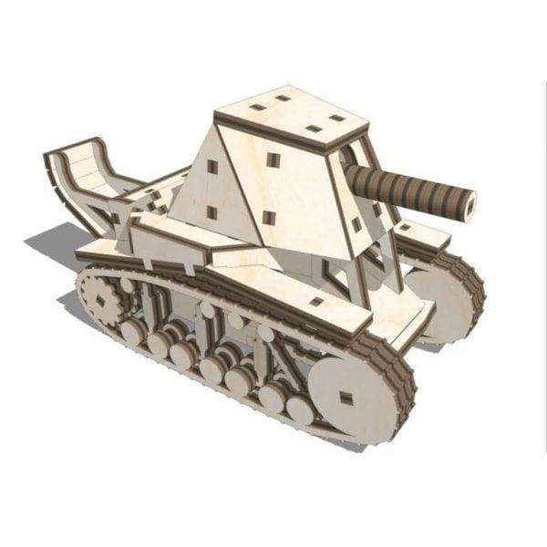 Макет танка СУ-18