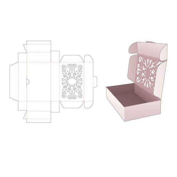 Упаковка с откидной крышкой