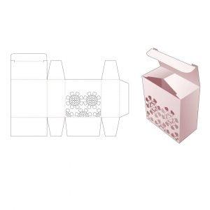 Упаковочная коробка из картона