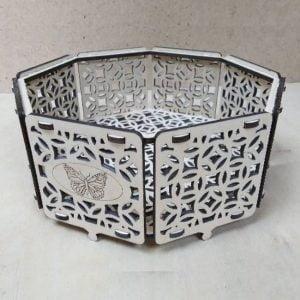 Декоративная ваза макет