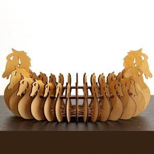Макет вазы с лошадьми