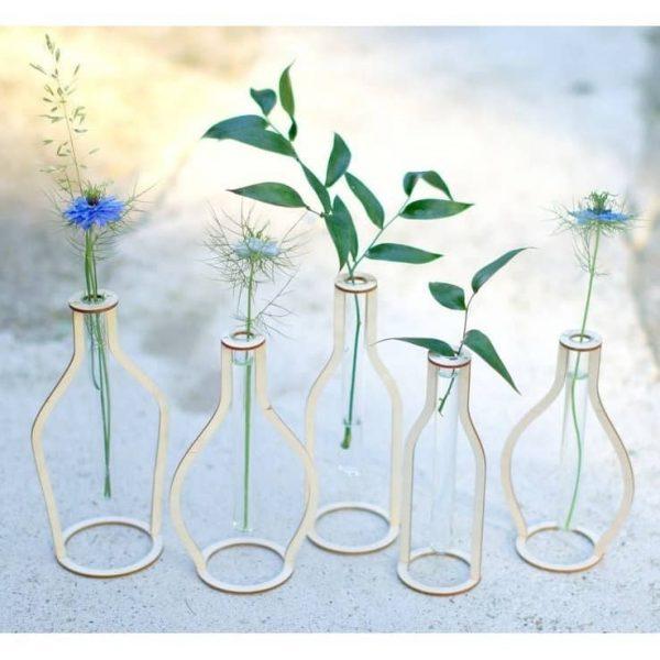 Подставка для колбы в виде вазы
