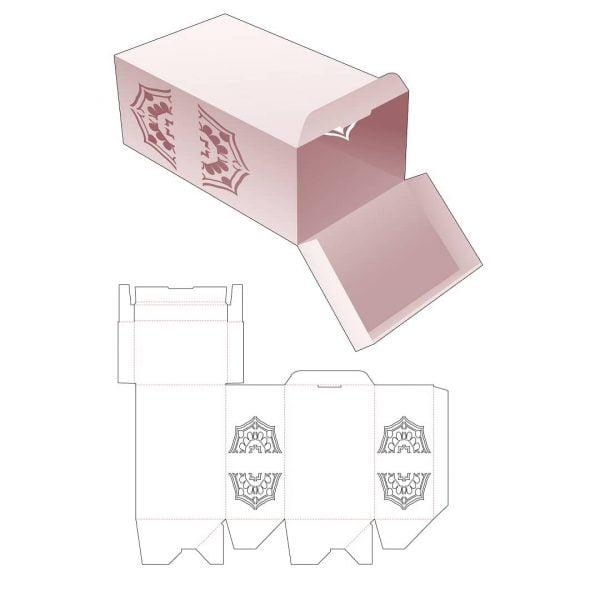 Закрытая упаковочная коробка