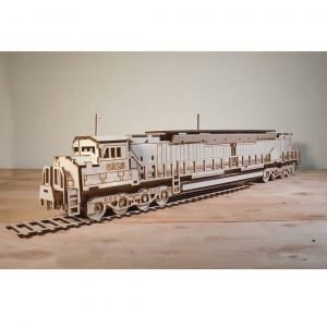 Макет железнодорожного локомотива
