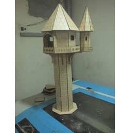 Макет башни Рапунцель
