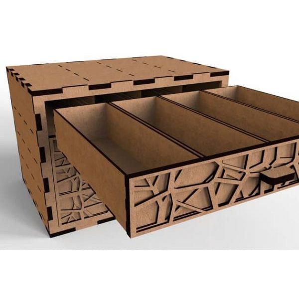Макет комода с ящиками