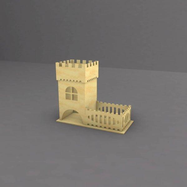 Макет чайной башни