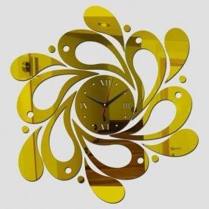 Макет часов с узором по спирали