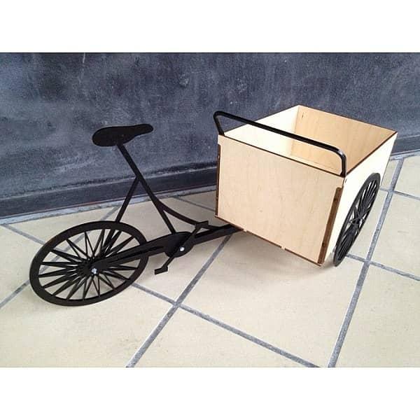 Макет велосипеда коробки