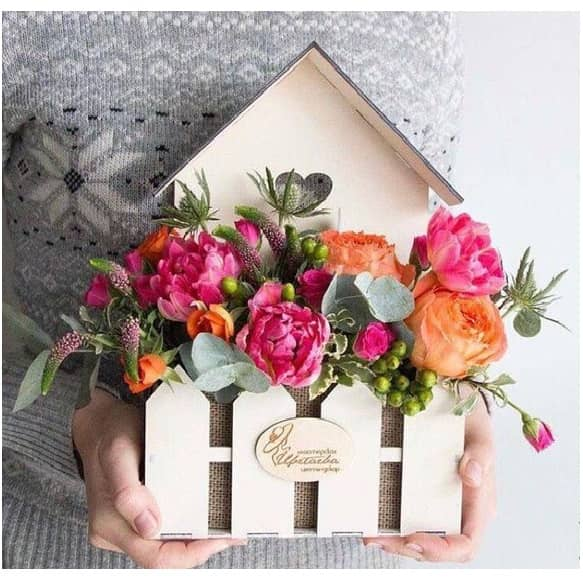 Цветочница дом