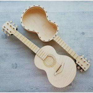 Макет декоративной гитара