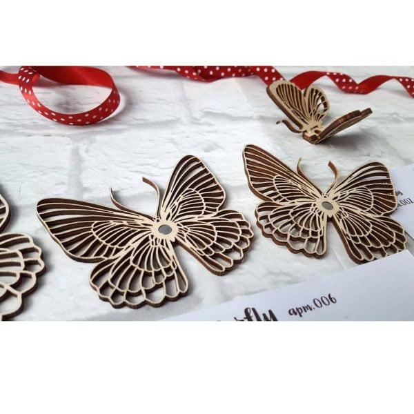 Макеты декоративных бабочек