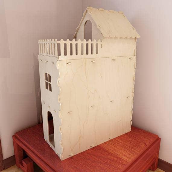 Макет домика для куклы
