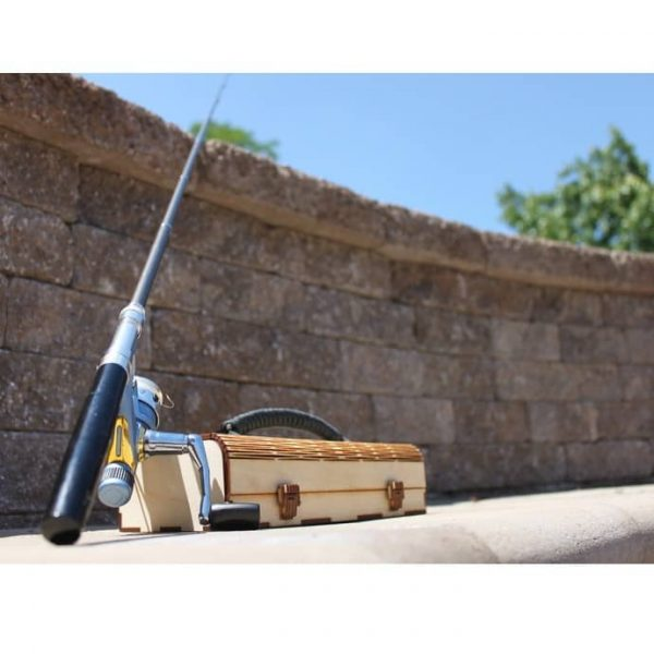 Макет ящика для рыбалки