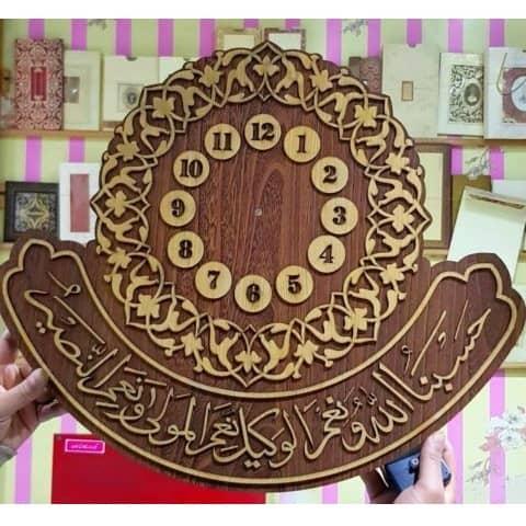 Макет исламских часов