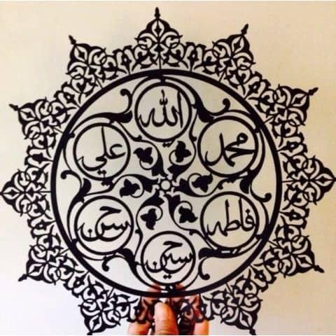 Макет панно Исламские узоры
