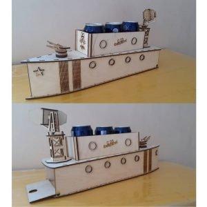 Сувенир корабль под банки