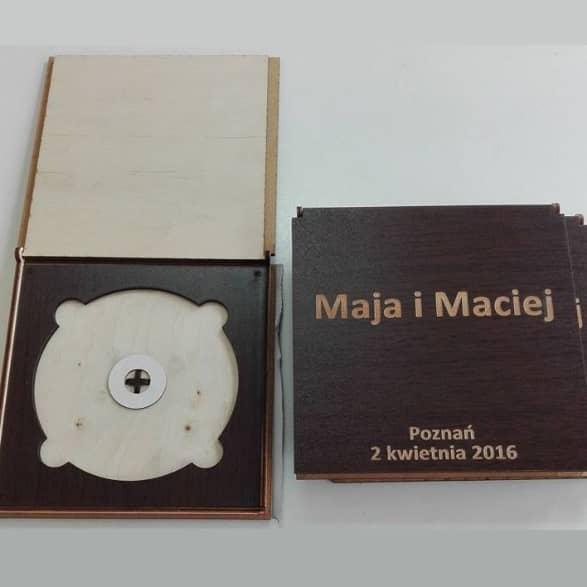 Макет коробки для CD дисков