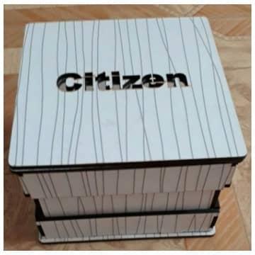 Макет коробки для часов