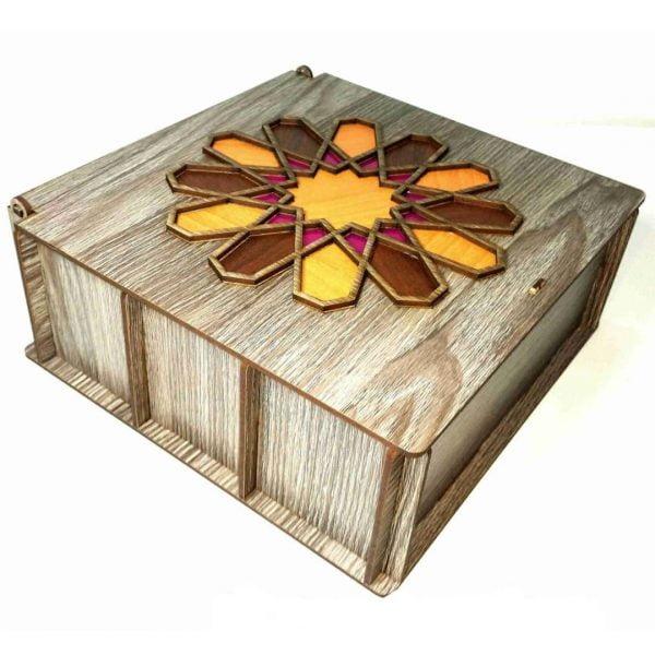 Макет коробки для чая