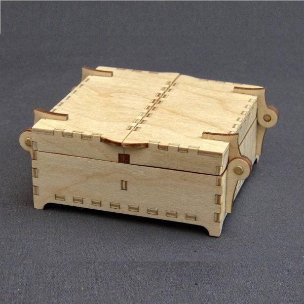 Коробка с 2 створками