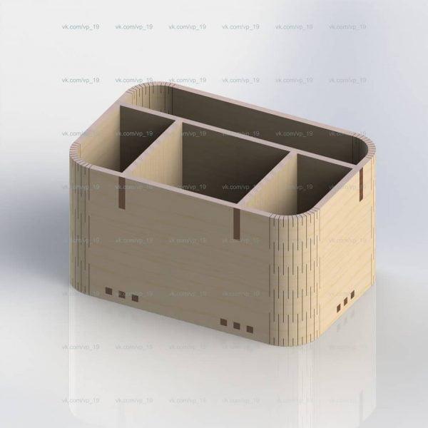 Коробка с отсеками
