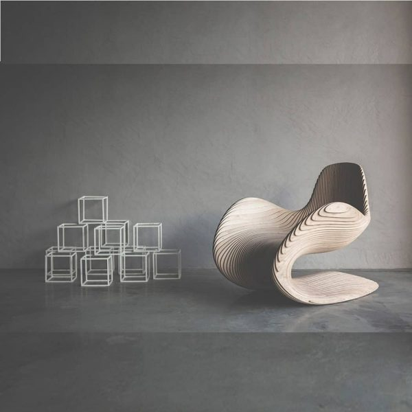 Макет многослойного кресла