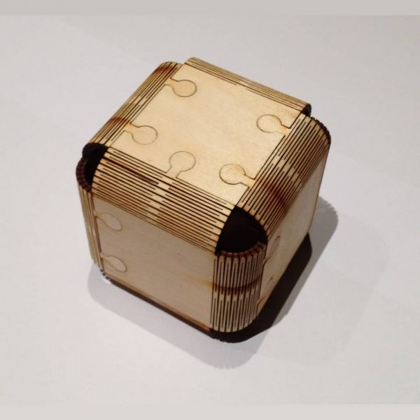 Макет кубика