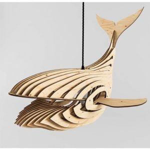 Макет люстры кита